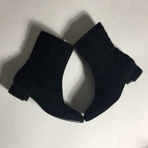 Aquatalia • Quilted Nubuck Boots